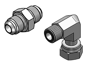 JIC AND ORFS ADAPTERS