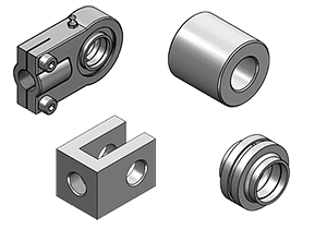 FIXATIONS FOR CYLINDERS