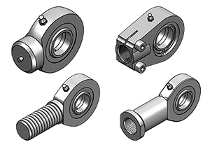 INDUSTRIAL BALL-JOINT ENDS