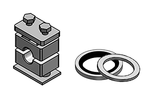 CLAMPS AND BONDED SEALS